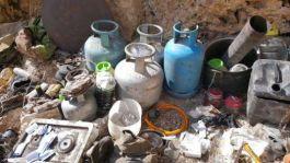 Teröristlere ait sığınak ve mühimmatlar ele geçirildi