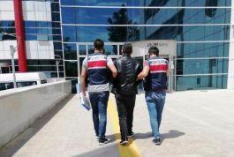 Teröristlere finans sağlayan şüpheli tutuklandı