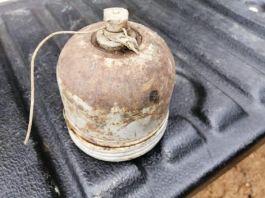 Teröristlerin tuzakladığı anti personel mayını ele geçirildi