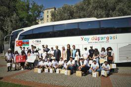TİKA Şehit ve gazilerinin çocukları için yaz okulu düzenledi