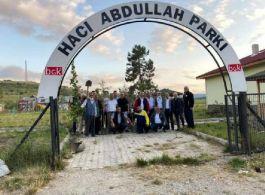 Tosya'da Şehit Er Murat Çökmez anısına fidan dikildi