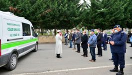 Trabzon'da vefat eden Kore gazisi toprağa verildi