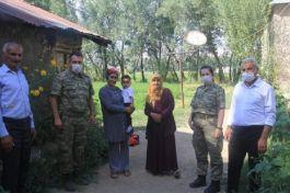 TSK Bayramda Şehit ve Gazi yakınlarını unutmadı