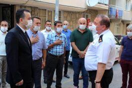 Tuğgeneral 'den Şehit ailelerini ve Gaziler derneğine bayram ziyareti