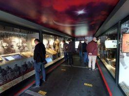 Tunceli'de Çanakkale Mobil Müzeye yoğun ilgi