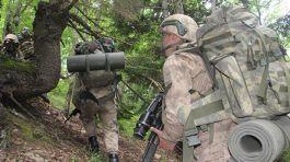 Tunceli'de Jandarma Özel Harekat (JÖH) birlikleri operasyonda