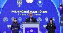 Türk Polis Teşkilatının ilk müzesinin açılışını yapıldı