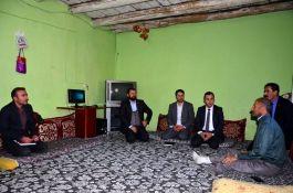 Uludere Kaymakam'ından Şehit yakınları ve gazilere ziyaret