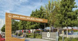 Üsküdarda parka Şehit Eren Bülbül adı verildi