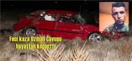 Uzman Çavuş Kazada Vefat etti