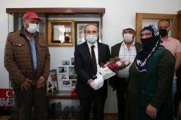 Vali Epcim Şehit ailelerini ziyaret etti