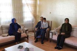 Vali Recep Soytürk'den anlamlı ziyaretler