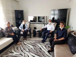 Vali Şehit aileleri ile gazileri ziyaret etti