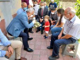 Vali Şehit Ailesine Taziye ziyareti yaptı
