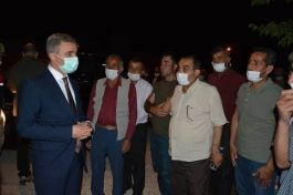 Vali Şehit ailesine taziye ziyaretinde bulundu