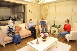 Vali Şehit Ailesini Bakan ile görüştürdü(Video)