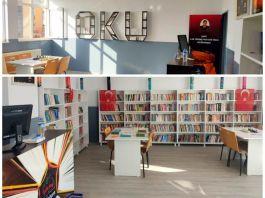 Vali Şehit kütüphanesi açılışı yaptı