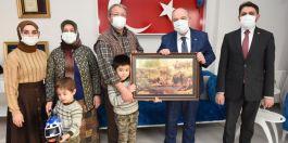 Vali Şehit ve Gazi ailelerini ziyaret etti