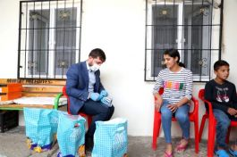 Vali Şehit ve Gazi çocuklarına Bayram hediyesi gönderdi