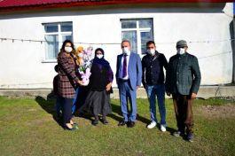 Vali ve Eşi Şehit ailesi ziyaretlerine devam ediyor