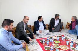 Vali'den Şehit ailelerini ziyaret edin talimatı