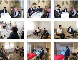 Vali'den Terör Gazilerine ziyaretler