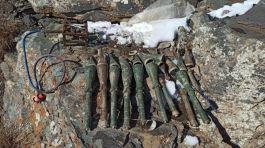 Van'da antitank roketatar mühimmatı ele geçirildi