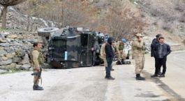 Van'da askeri araç devrildi: 6 asker yaralandı