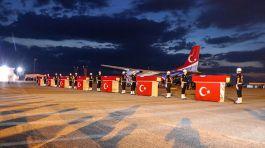 Van'da düşen uçakta Şehit olan 7 Polise uğurlama töreni