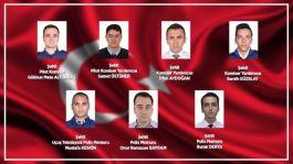 Van'da Şehit olan 7 Emniyet Mensubunun kimlikleri belli oldu