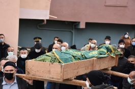 Vefat eden Kore gazisi Ankara'da son yolculuğuna uğurlandı