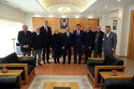 Yeni Kayseri Şehit ve Gazi Şube Başkanından Vali'ye ziyaret