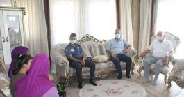 Yumurtalık Kaymakamından Şehit ailelerine bayram ziyareti